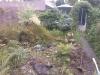 Tuin voor renovatie.